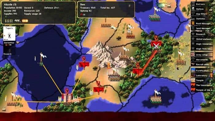 Dominions 4 Civilization Like Game