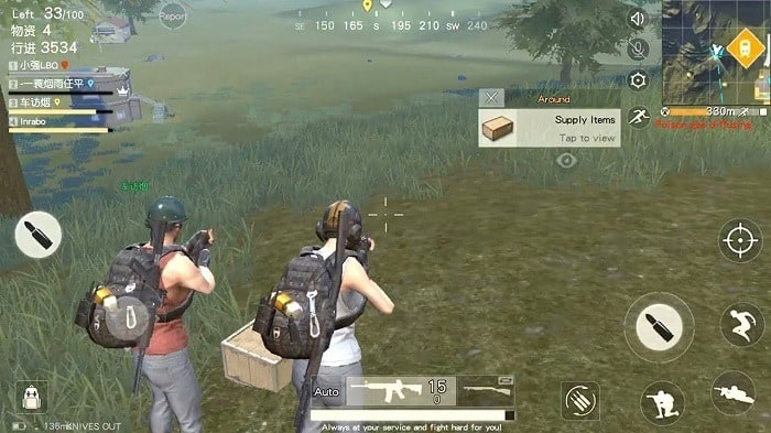 knives out pugb fortnite like games